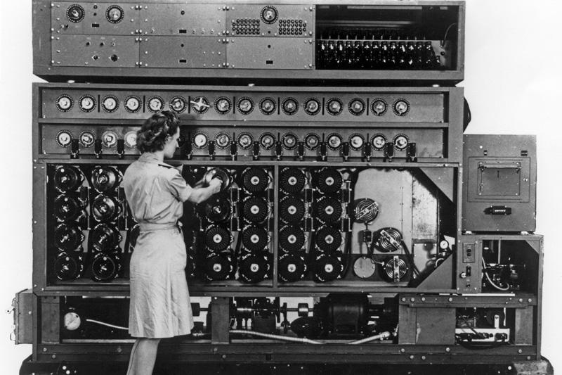 Bombe machine. Photo courtesy General Motors